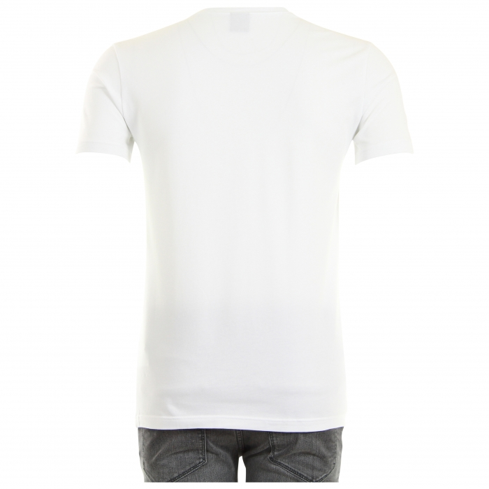 Hugo Boss T-shirt Wit Stretch 2-Pack